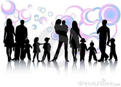 Abstrakt familj
