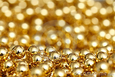 Abstrakt guld