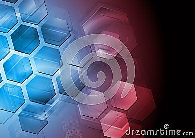 Abstrakt högteknologisk design