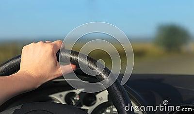 Abstrakt körning