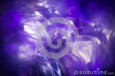 Abstrakt ljus frysningbakgrund, blå magisk fractal