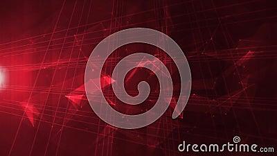 Abstrakt tekniskt avancerad digital e-affär bakgrund