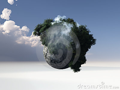Abstrakt värld