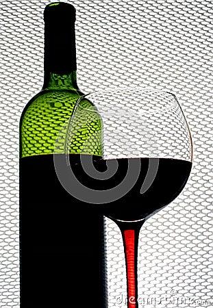 Abstrakt Winebakgrundsdesign