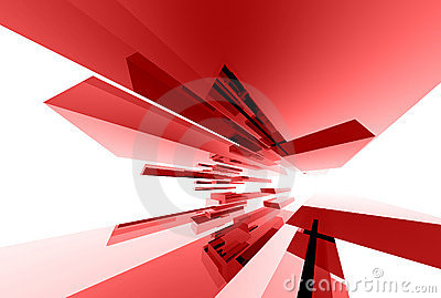 Abstrakte Glaselemente 033