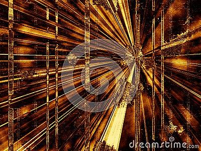Abstrakte Hintergrund Perspektive