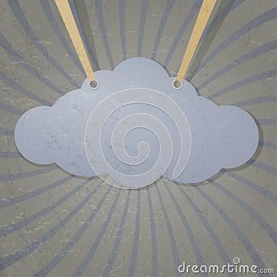 Abstrakte Wolke