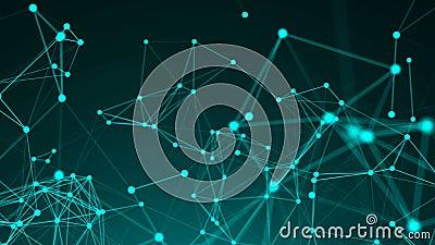Abstrakter Hintergrund, Geometrieoberflächen, Linien, Stellen und Punkte Abstraktes Rasterfeld lizenzfreie abbildung