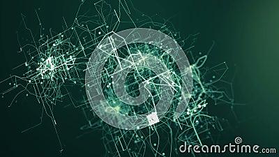 Abstrakter tehnology Hintergrund vektor abbildung