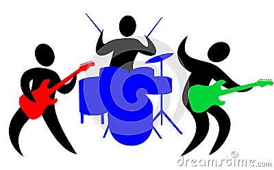 Abstraktes Band