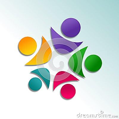 Abstraktes Logodesign