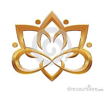 Abstraktes symbol lotus blume stockbilder bild 34454904 - Fleur de lotus symbole ...