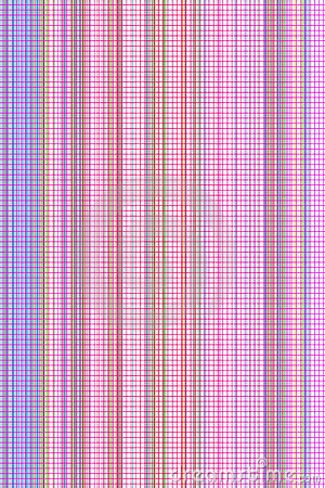 Abstrat stripes with lattice background