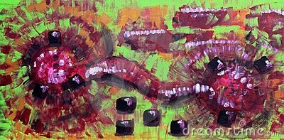 Abtract Expressionist Painting