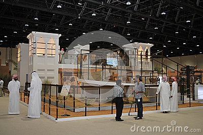 Abu Dhabi International Hunting and Equestrian Exh Editorial Stock Photo