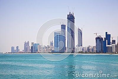 Abu Dhabi Skyline, UAE