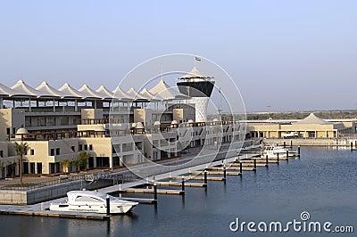 ABU DHABI, UAE Yas Marina Grand Prix Editorial Photography