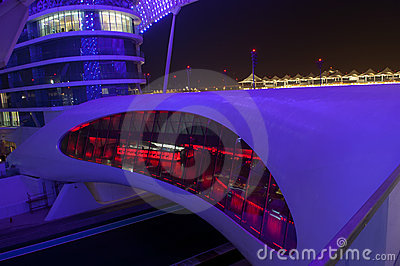ABU DHABI - YAS MARINA HOTEL Editorial Photo