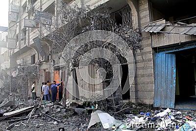 Abu khadra ruins Editorial Image