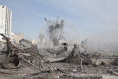 Abu khadra ruins Editorial Photography