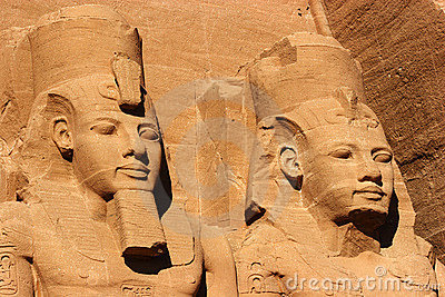 Abu Simbel heads, Egypt, Africa