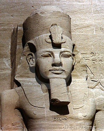 Free Abu Simbel Statue Royalty Free Stock Photography - 3986347