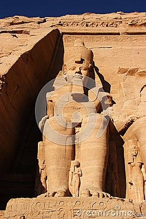 Abu Simbel statute, Egypt, Africa