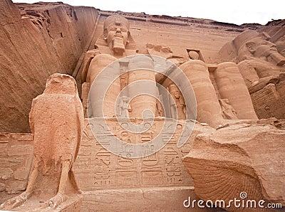 Abu Simbel temple of Ramses II, Egypt.