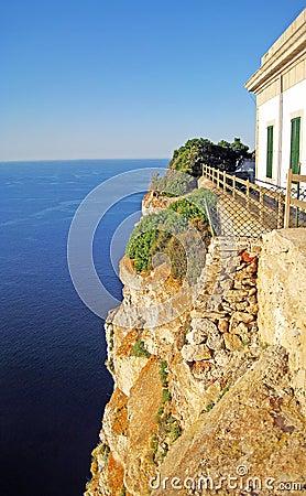 Free Abyss At Cap De Formentor, Majorca Stock Images - 26719724