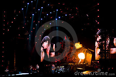 AC/DC concert Montreal Editorial Image
