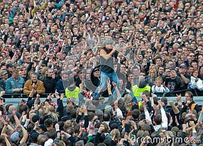 AC/DC on Tour Editorial Stock Photo
