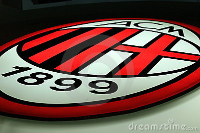 AC Milan Editorial Stock Image