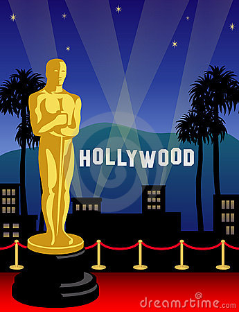Academy Award Oscar In Hollywood Editorial Stock Image Image 12907904