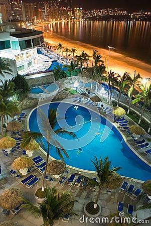 Free Acapulco Night Stock Image - 5044661