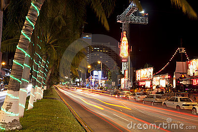 Acapulco Nightlife Editorial Stock Image