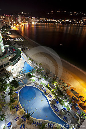 Free Acapulco Nights Stock Images - 13108054