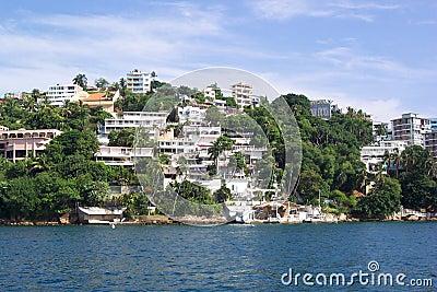 Acapulco-Ufergegend