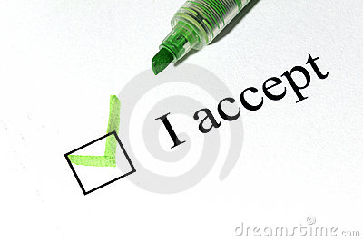 Accept checkboxes