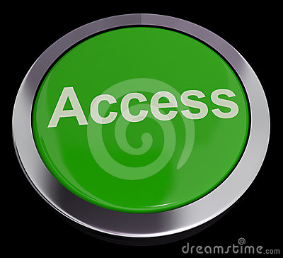 Access Button In Green