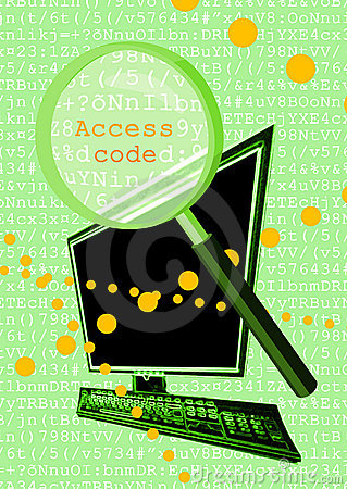 Access code clipart