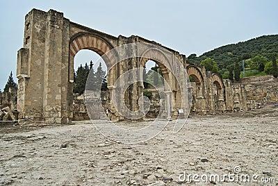 Access gate to the city of Medina Azahara