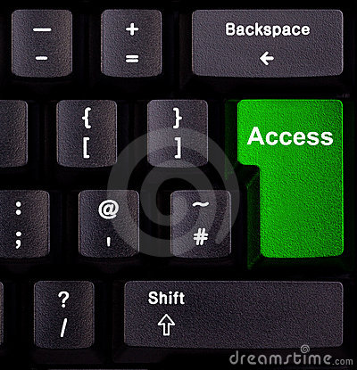 Access on keyboard