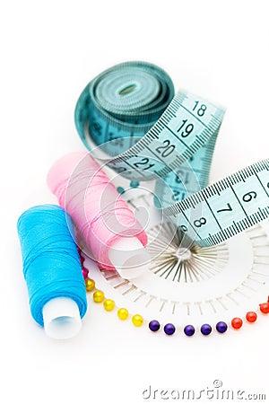 Accessori di cucito immagini stock immagine 16690424 for Accessori cucito
