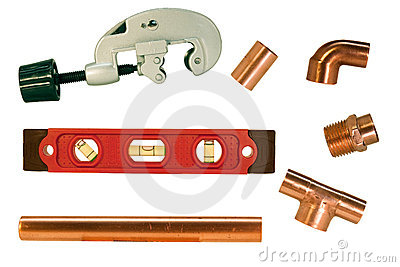 Accessori per tubi e taglierina di rame