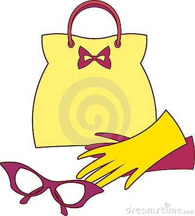 Accessories - Handbag, Gloves and Glasses