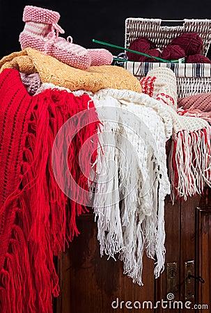 Accessories handmade wool