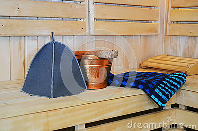 Accessories for sauna