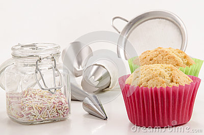 Accessories to decorate cupcakes