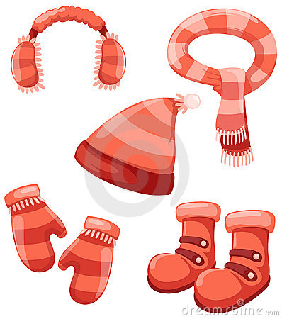Free Accessories Winter Set Stock Images - 14528294