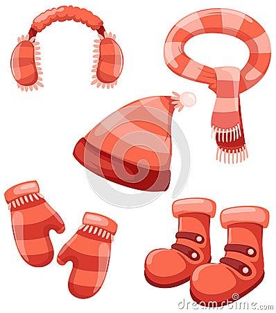 Accessories winter set
